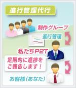 進行管理代行│ホームページ作成(WEBサイト制作)東京・埼玉 P2T